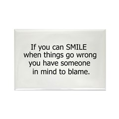 if you can smile.. Rectangle Magnet (10 pack)