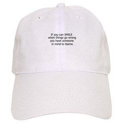 if you can smile.. Baseball Cap