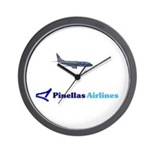 Pinellas Airlines Wall Clock