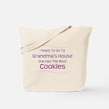 Grandma's Best Cookies Tote Bag