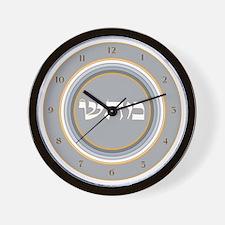 HEALING ENERGY ROUND Wall Clock