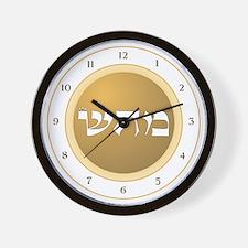 HEALING ENERGY MOON Wall Clock