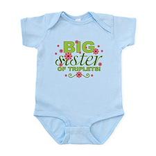 Big Sister of Triplets Infant Bodysuit