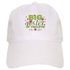 Big Sister of Triplets Baseball Cap