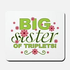 Big Sister of Triplets Mousepad