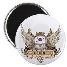 Soccer South Korea Magnet