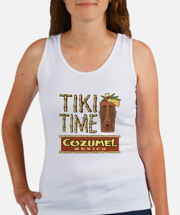 Cozumel Tiki Time - Women's Tank Top