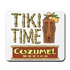 Cozumel Tiki Time - Mousepad