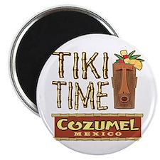 Cozumel Tiki Time - Magnet