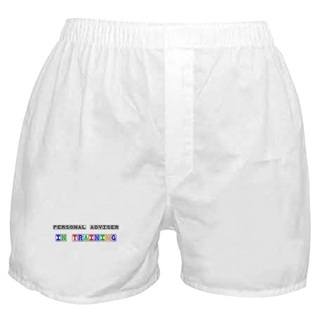 Personal Adviser In Training Boxer Shorts