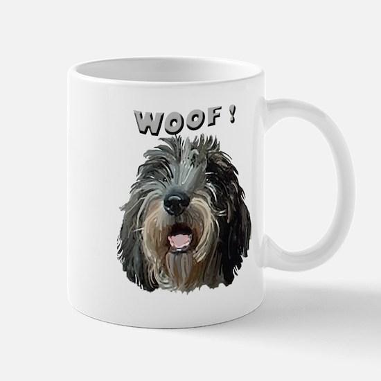 PBGV WOOF Mug