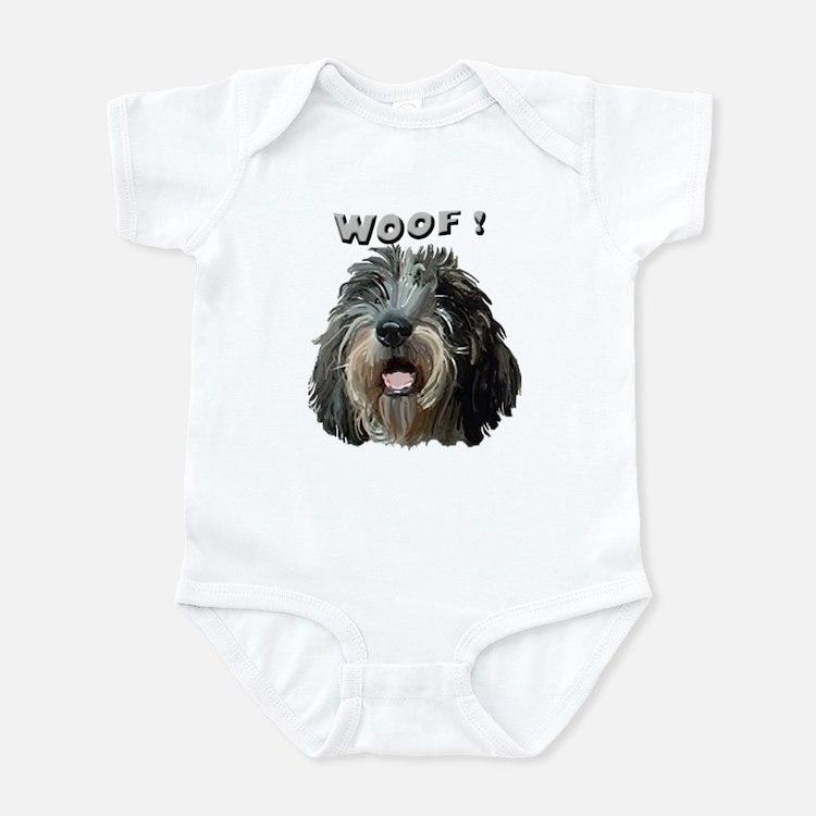 PBGV WOOF Infant Bodysuit