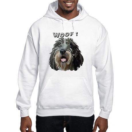 PBGV WOOF Hooded Sweatshirt