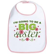Big Sister To Be Bib