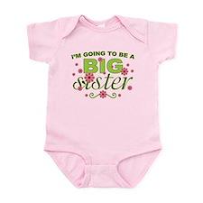 Big Sister To Be Infant Bodysuit