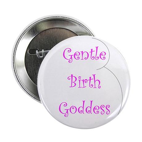 """Gentle Birth Goddess 1 2.25"""" Button (10 pack)"""