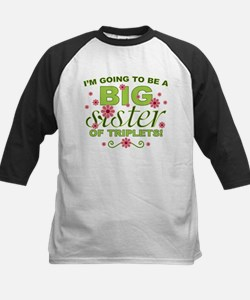 Big Sister To Be Triplets Tee