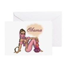 I Wish for Obama Greeting Card
