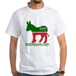 DHIMMIcratic Party White T-Shirt