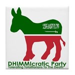 DHIMMIcratic Party Tile Coaster