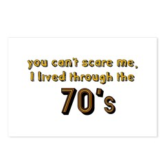 you can't scare me..70's Postcards (Package of 8)