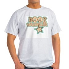 Librarian: Book Wrangler Ash Grey T-Shirt