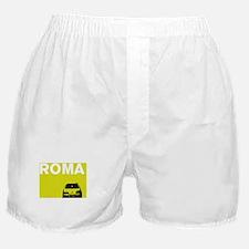 Roma - Fiat - chartreuse Boxer Shorts