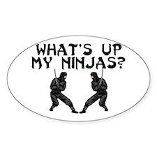 My Ninjas Oval Decal