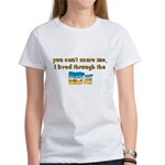 you can't scare me..80's Women's T-Shirt
