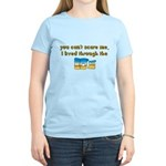 you can't scare me..80's Women's Light T-Shirt