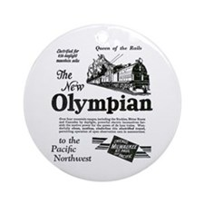 The Olympian 1929 Ornament (Round)