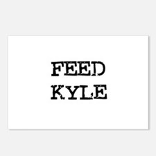 Feed Kyle Postcards (Package of 8)