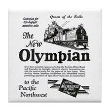 The Olympian 1929 Tile Coaster