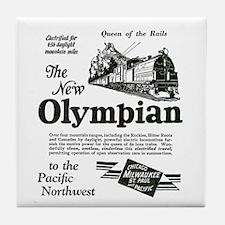 The Olympian 1929 Tile Coaster