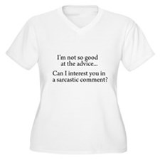 not so good at the advice Women's Plus Size V-Neck