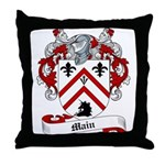 Main Family Crest Throw Pillow