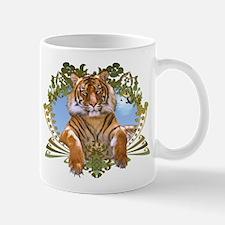 Fierce Siberian Tiger Crest Mug
