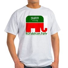 ROPublican Party Ash Grey T-Shirt