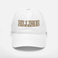 billings (western) Baseball Baseball Cap