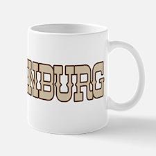 edinburg (western) Mug