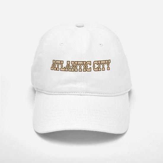 atlantic city (western) Baseball Baseball Cap