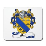 Mar Family Crest Mousepad