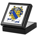 Mar Family Crest Keepsake Box