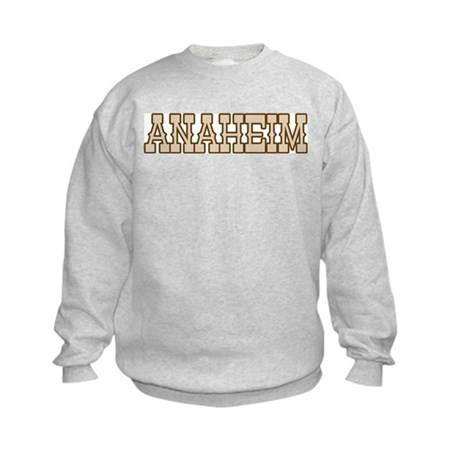 anaheim (western) Kids Sweatshirt