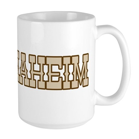 anaheim (western) Large Mug