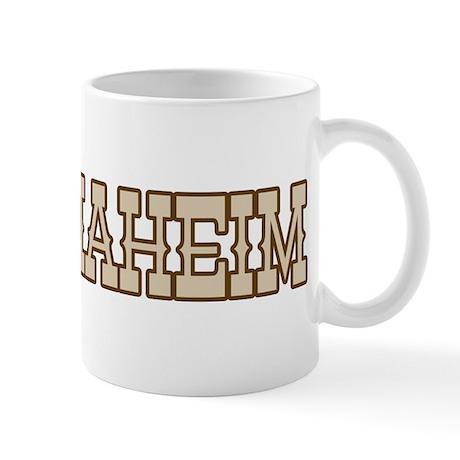 anaheim (western) Mug