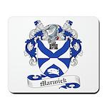 Marwick Family Crest Mousepad