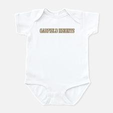 garfield heights (western) Infant Bodysuit