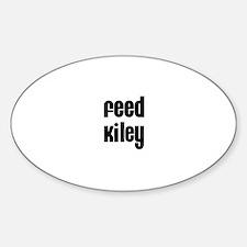 Feed Kiley Oval Decal