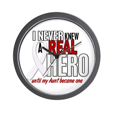 Never Knew A Hero 2 PEARL (Aunt) Wall Clock